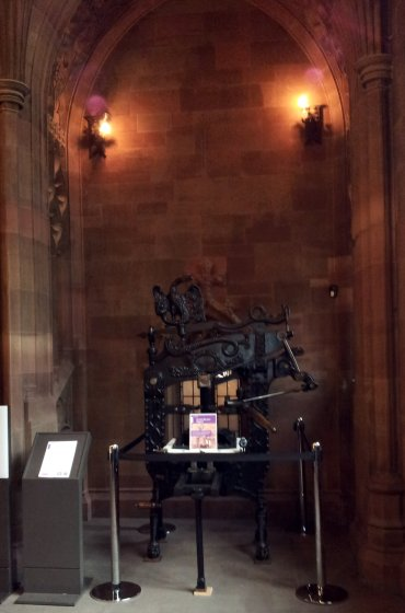 Columbia Printing Press at John Rylands Library